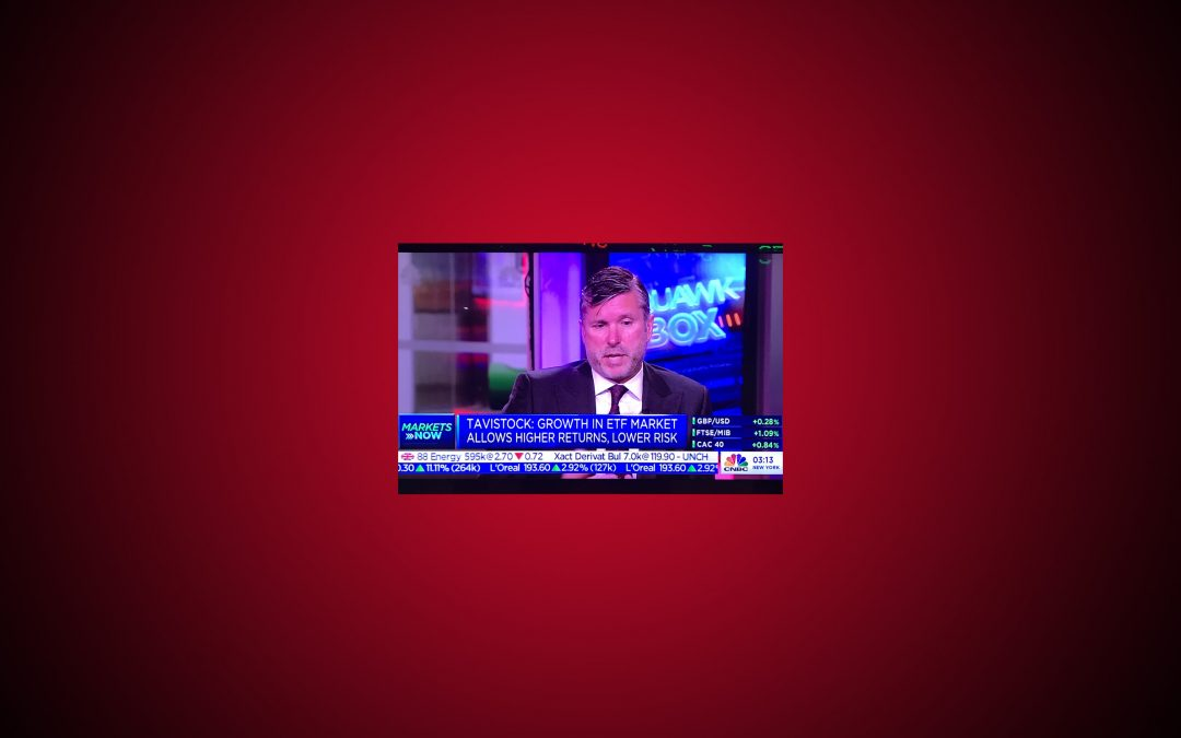 Christopher Peel appears on CNBC Squawk Box Europe